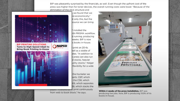BIP Printing Solutions Turns to High-Speed Inkjet to Bring